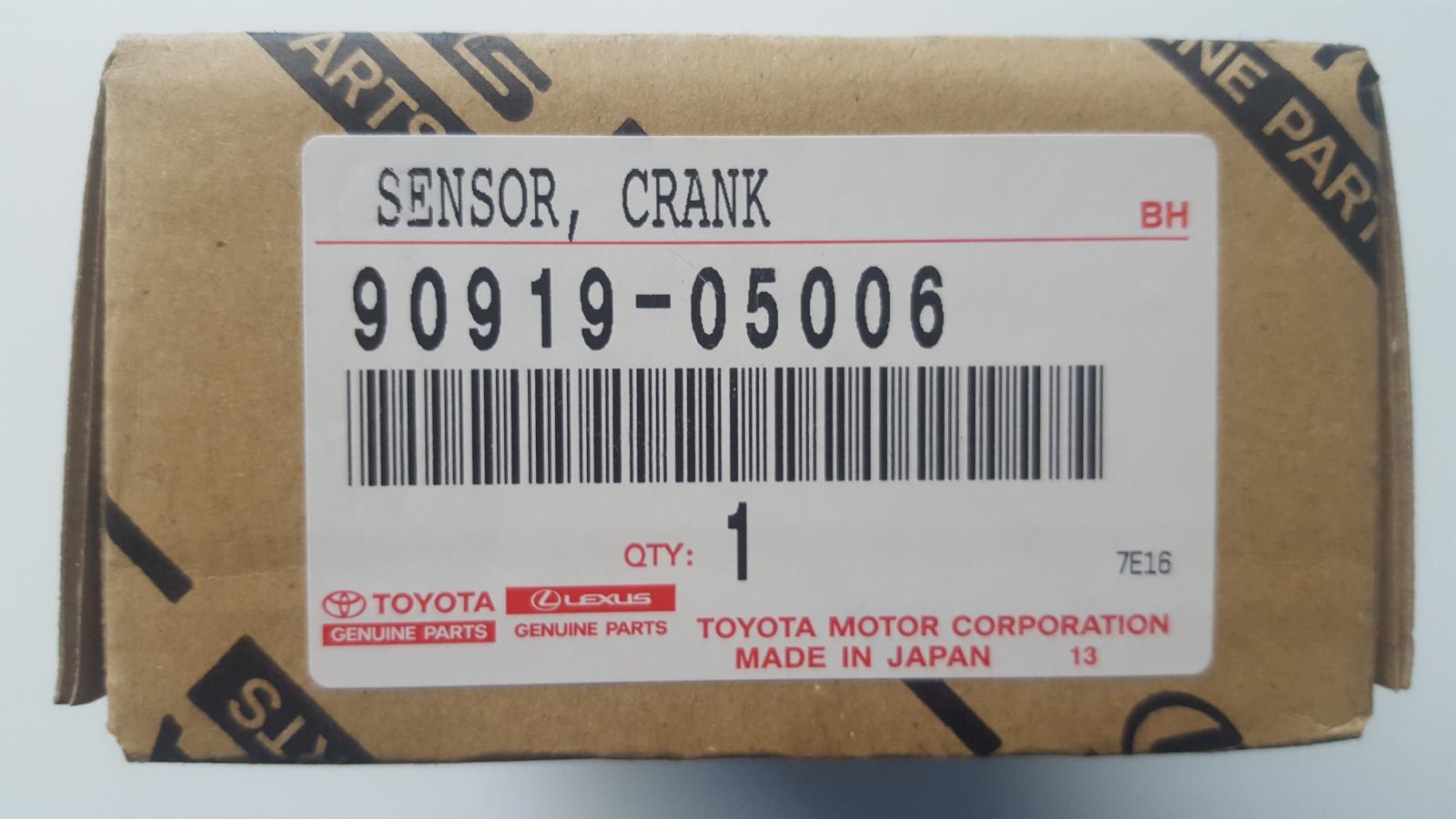 NEW GENUINE TOYOTA SUPRA TWIN TURBO CRANKSHAFT SENSOR 90919-05006 1993-1997